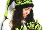Фото-сессия наших шапочек-варежек-шарфиков на Ёже :)